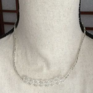 Jewelry - Clear Bead Necklace